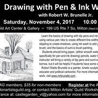 Pen &amp Ink Drawing Workshop