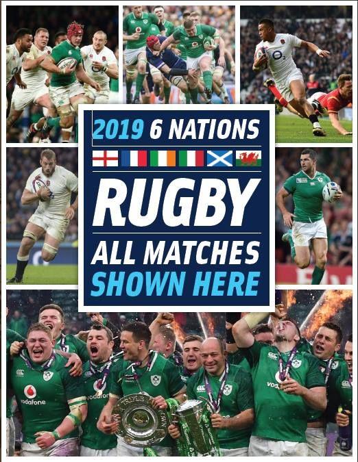 6 Nations LIVE Wales vs Ireland