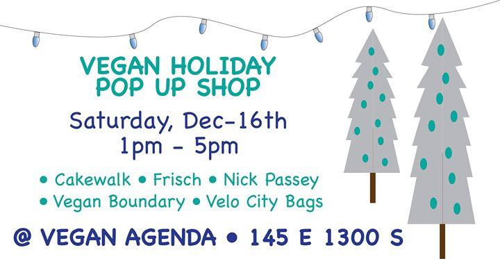 SLC Vegan Holiday Pop Up Shop