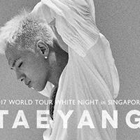 TAEYANG 2017 World Tour White Night in Singapore