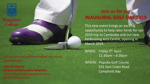 Rangi Golf Day Fundraiser