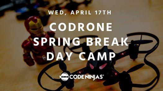 Drone Spring Break Day Camp at Code Ninjas, Maryland
