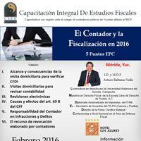 EL CONTADOR Y LA FISCALIZACIN EN 2016