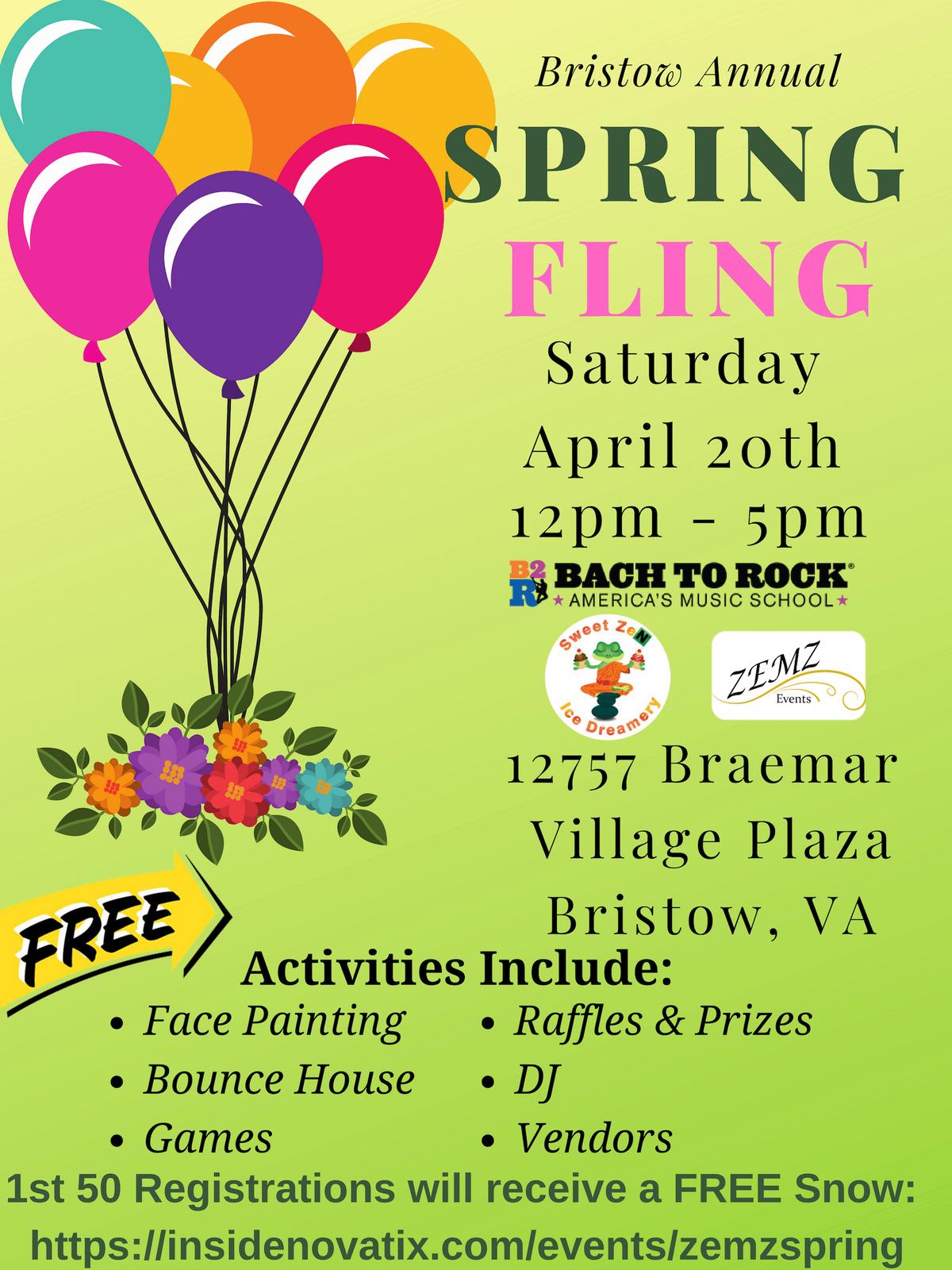 Bristow Annual Spring Fling