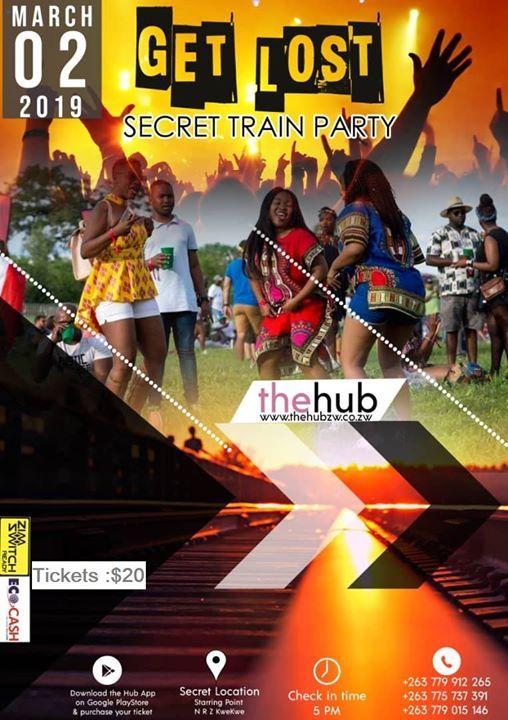 Get Lost Secret Train Party