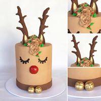 Beginner Decorating Class - (19th December 2017) 7 Extended Height Rudolph