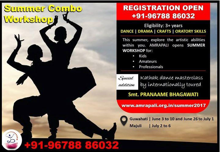 Amrapali Summer Combo Workshop 1-2017