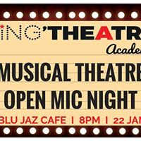 Musical Theatre Open Mic Night By Singtheatre Academy