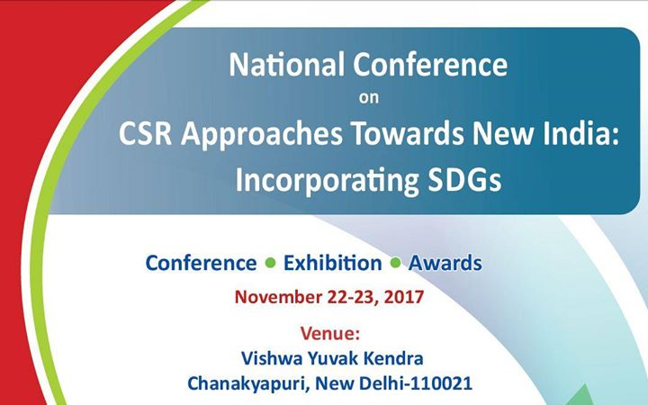 2nd National Convention on CSR Towards New India and SDGs