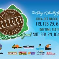 City of Yumas Lettuce Festival