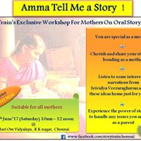 Amma Tell me a Story  - Exclusive program for mothers