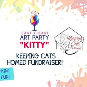 Art Party 0526 - &quotKitty&quot Keeping Cats Homed Fundraiser - Sside