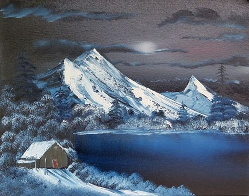 Bob Ross Oil Painting Class At Hobby Lobby 1658 Town Square Sw