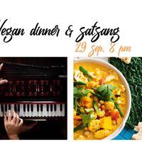 Vegan Dinner &amp Satsang