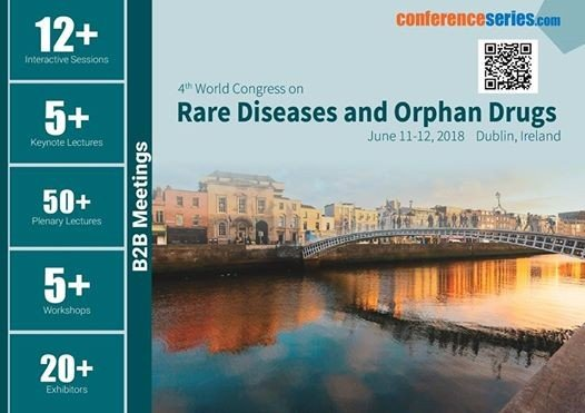 4th World Congress on Rare Diseases and Orphan Drugs