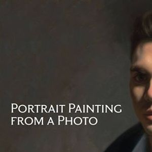 Workshop Portrait Painting from a Photo