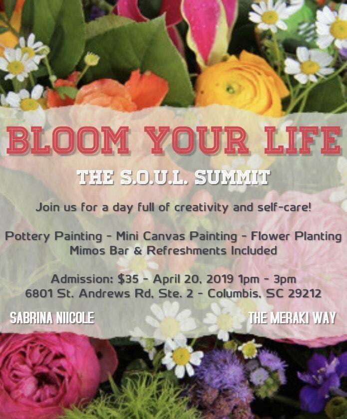 Bloom Your Life - Paint Party