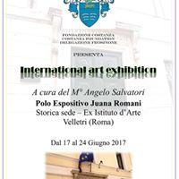 International Art Exhibition A cura del M Angelo Salvatori