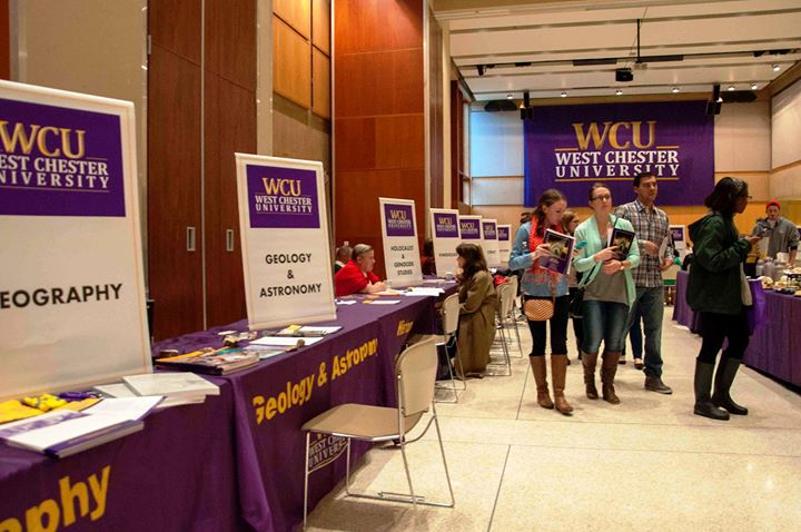 Wcu Graduate Open House At West Chester University S Sykes Student
