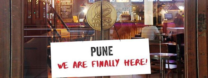 First store in Pune - Taco Bell Opening