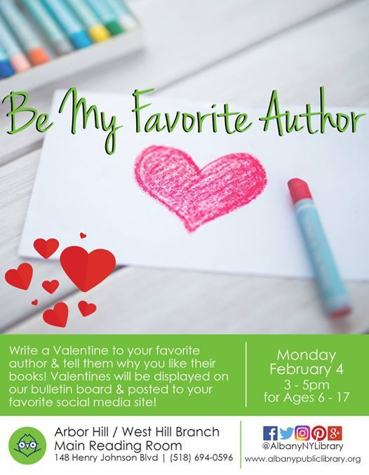 Be My Favorite Author