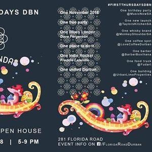 Hacienda Open House - First Thursdays DBN