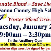 FCHS Student BLOOD DRIVE