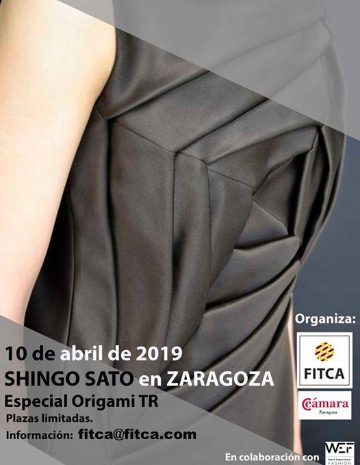 Origami de Shingo Sato en Zaragoza