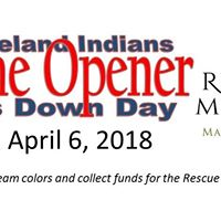 2018 Tribe Home Opener Dress Down Day for Rescue Mission Mah Val