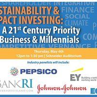 Sustainability &amp Impact Investing