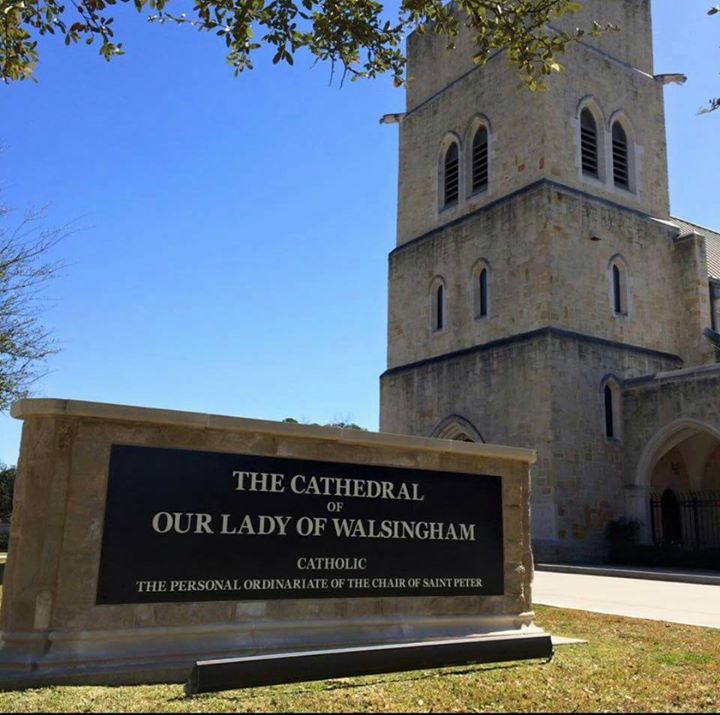 Houston Mass Mob Anglican Use At Cathedral Of Our Lady Of