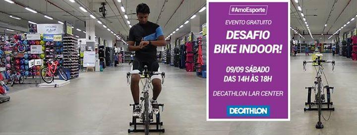153edf3230 Desafio Bike Indoor! I Decathlon Lar Center at Decathlon Brasil