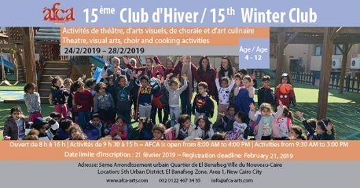 15me Club dhiver de lAFCA  AFCAs 15th Winter Club