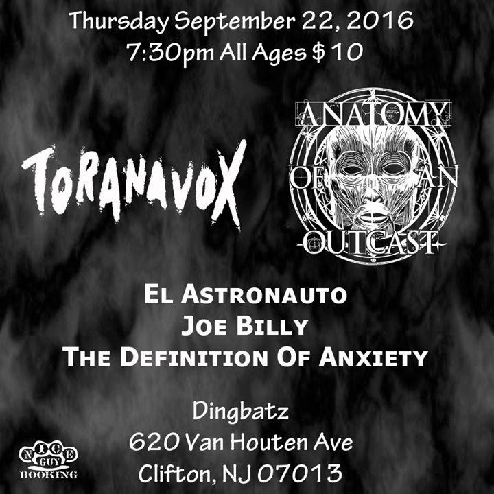 Joe Billy/Toranavox/Anatomy Of An Outcast/The Definition of Anxiety ...