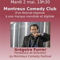 Confrence sur le Montreux Comedy Club par Grgoire Furrer