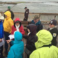 Tour of new Eden Landing trail kayak launch saltworks site