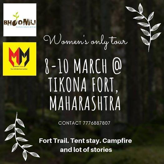 Women Only Tour  Tikona Fort