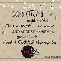 The Santorini Night Market - August 2017