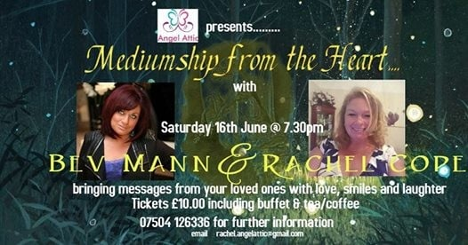 Mediumship from the Heart with Bev Mann & Rachel Cope