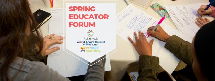 All for All Educator Forum