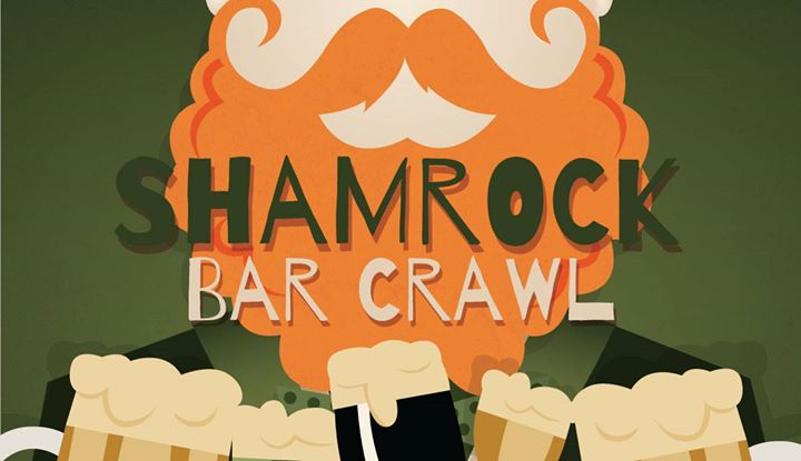 Shamrock Bar Crawl At Downtown Willoughby Willoughby