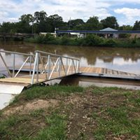 Floating Dock Opening in Port Barre