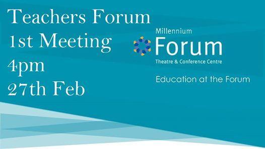 Teachers Forum - Education