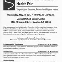 Adult and Senior Wellness Health Fair