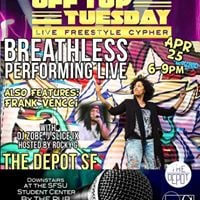 Off Top Tuesday feat. Frank Vencci and Breathless