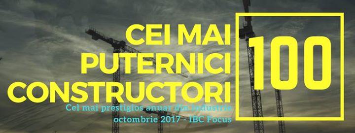 TOP 100 firme de constructii din Romania