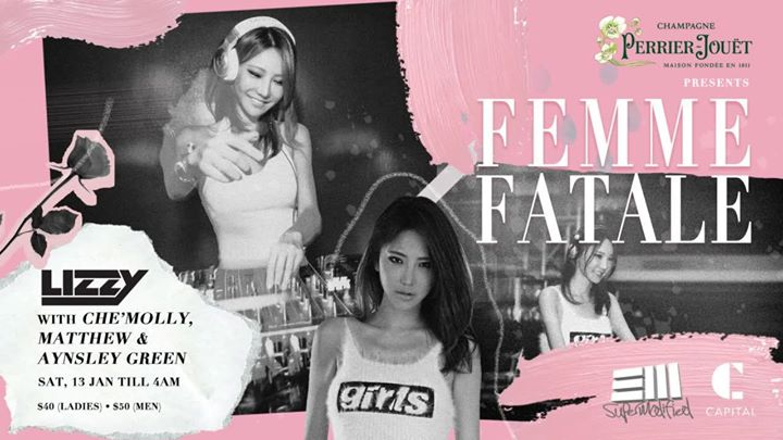 Femme Fatale Presents Lizzy with CheMolly Matthew & Aynsley G