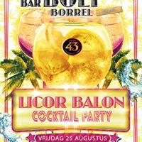 Bar Boef Borrel - Licor Baln