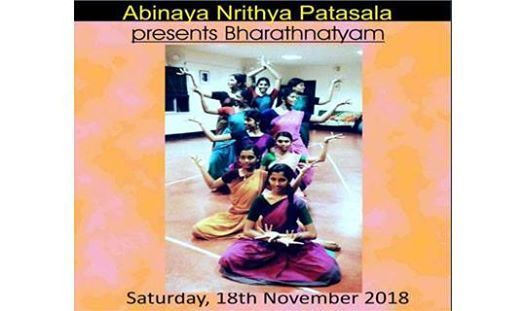 Classical dance performance by Abhinaya Nrithya Patasala