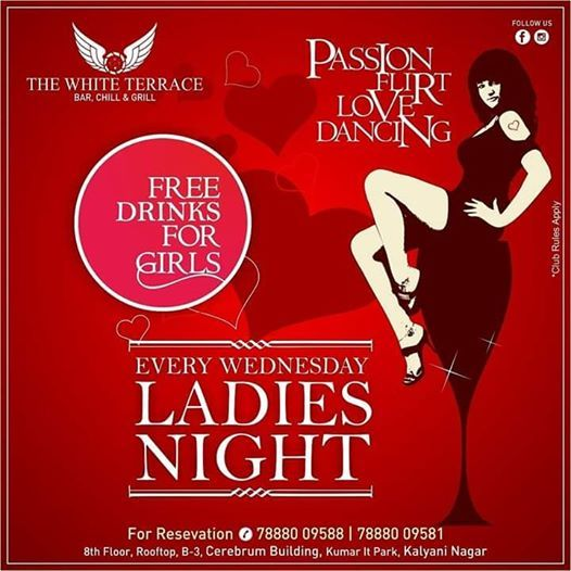 Bollywood Ladies Night [The White Terrace]